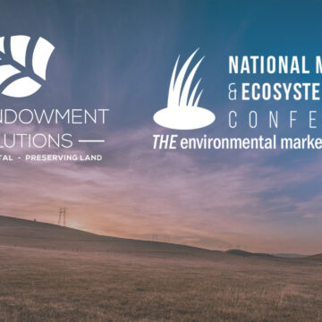 Join EES at NMEBC 2021 for our session on conservation endowments